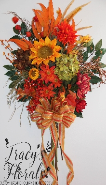 Fall Door/Wall Bouquet