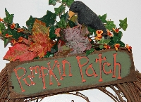 Deluxe Pumpkin Patch Wreath