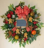 Gingerbread Cookies Wreath