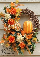 Pretty Pumpkins Wreath