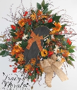 Fall Crow Wreath