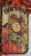 Harvest Scarecrow Wreath