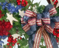 Stars and Stripes Wreath