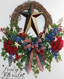 Stars and Stripes Wreath