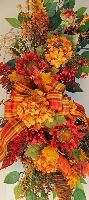 Pumpkin Welcome Wreath