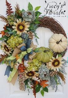 Early Autumn Wreath