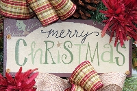 Merry Christmas Swag