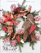 Deluxe Gingerbread Wreath