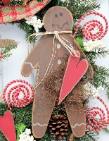 Deluxe Gingerbread Wreath