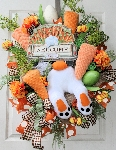 Welcome Easter Wreath
