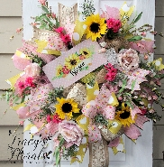 Blessed Spring Wreath