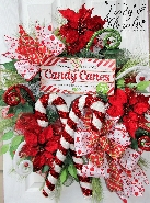 Candy Canes Wreath