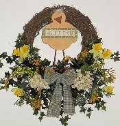 Chick Spring Wreath