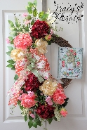 Cottage Spring Wreath