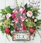 Floral Welcome Wreath