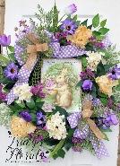Easter Greetings Wreath