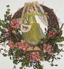 Sweet Bunny Wreath