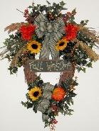 Fall Welcome Wreath
