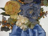 French Blue Wreath