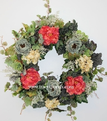 French Country Blossoms Wreath