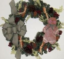 Gingerbread Man Wreath