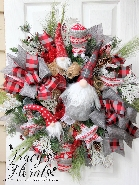 Christmas Gnome Wreath