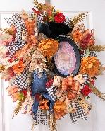XL Scarecrow Wreath