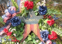 America Wreath