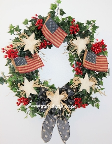 Old Glory Wreath