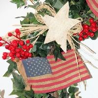 Old Glory Wreath
