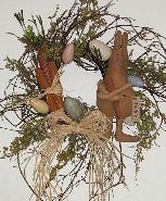 Prim Bunny Wreath