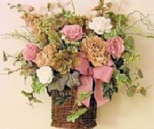 Perfect Posies Wall Basket
