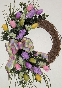 Signs of Spring Wreath