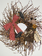 Primitive Girl Wreath