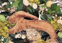 Spring Prim Bunny Twig Wreath