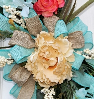 Country Easter Wreath