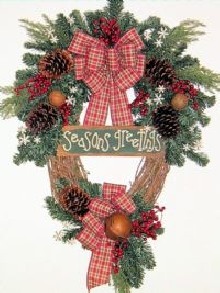 Seasons Greetings Wreath