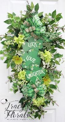 St. Patricks Day Swag