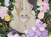 Bunny Face Wreath