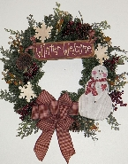 Winter Welcome Wreath